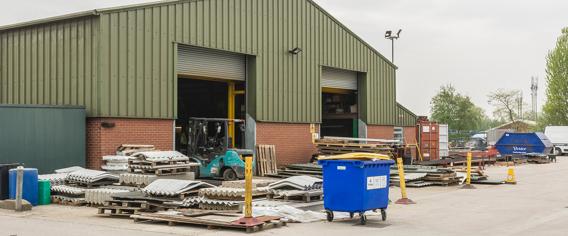 Rangescheme Industrial Units Wigan